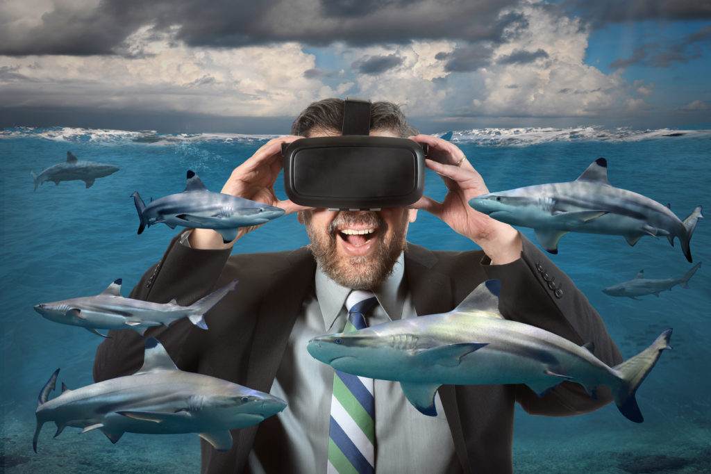VR: the fastest growing area of UK entertainment and media sector image