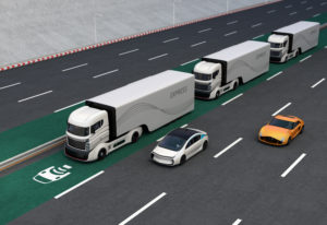 Self-driving lorries ready for trials on UK roads
