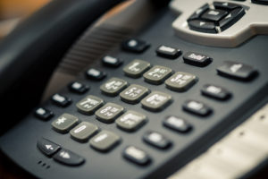A business's phone system needs