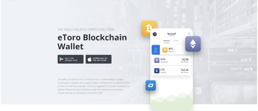 eToro Cryptocurrency Wallet review 2019