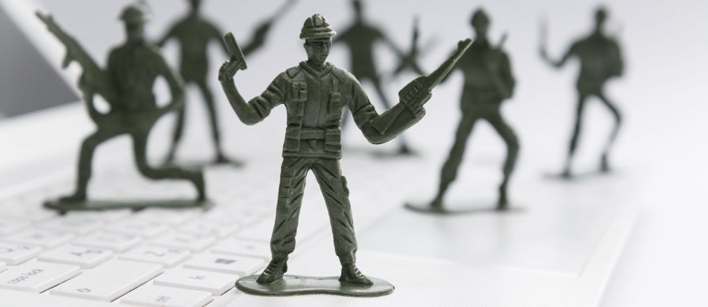 Cyber war is here, according to 87% of security professionals image