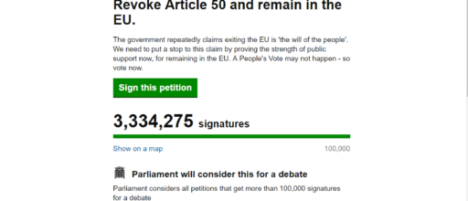 Data gurus comment on Revoke Article 50 petition