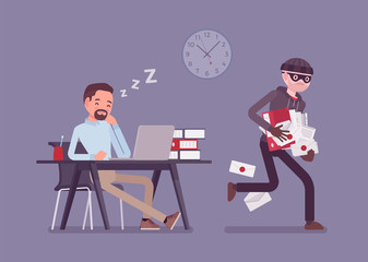 The rise of employees stealing data: how do businesses stop this from happening? image