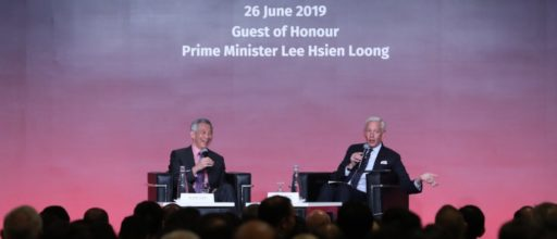 "Prime Minister Lee Hsien Loong looking to the digital future: ""We've plucked all the low-hanging fruit"""