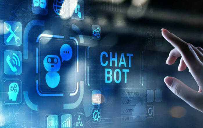 Adopting an AI chatbot to improve customer and employee experience image