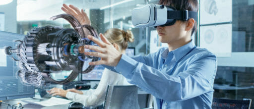 VR is ahead for now, but AR will be a larger market in the long run