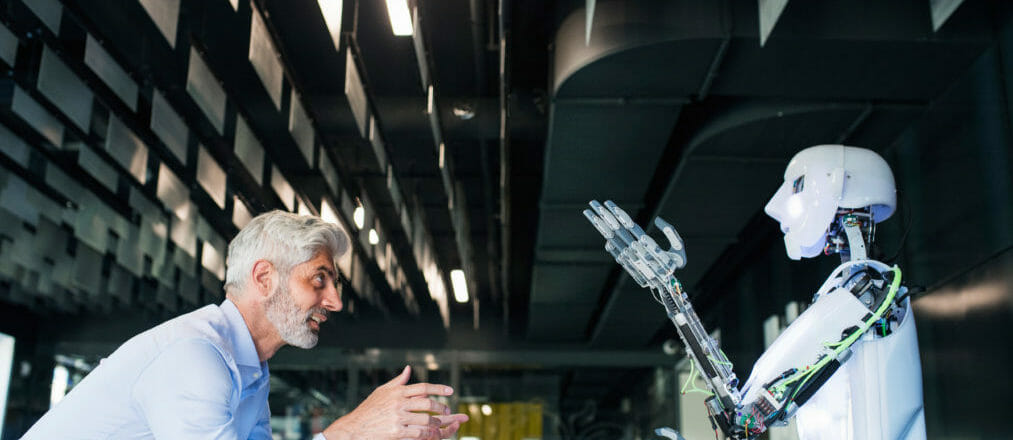 Artificial intelligence is driving the next generation of jobs in the UK image