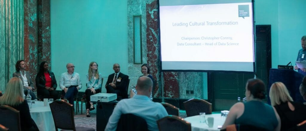 Leading cultural transformation at Tech Leaders Summit image