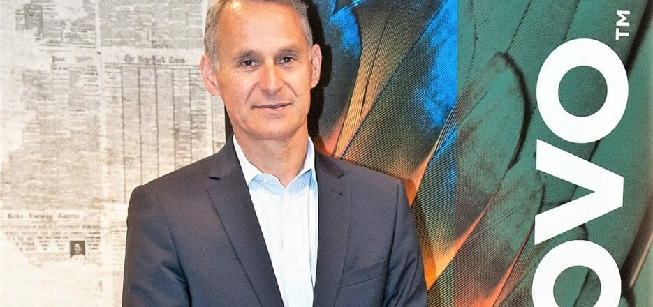 Lenovo's president EMEA discusses the company's 2020 business strategy image