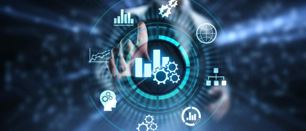 Moving from collecting data to running business intelligence image