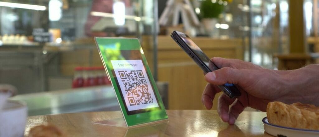 The question of QR code security image