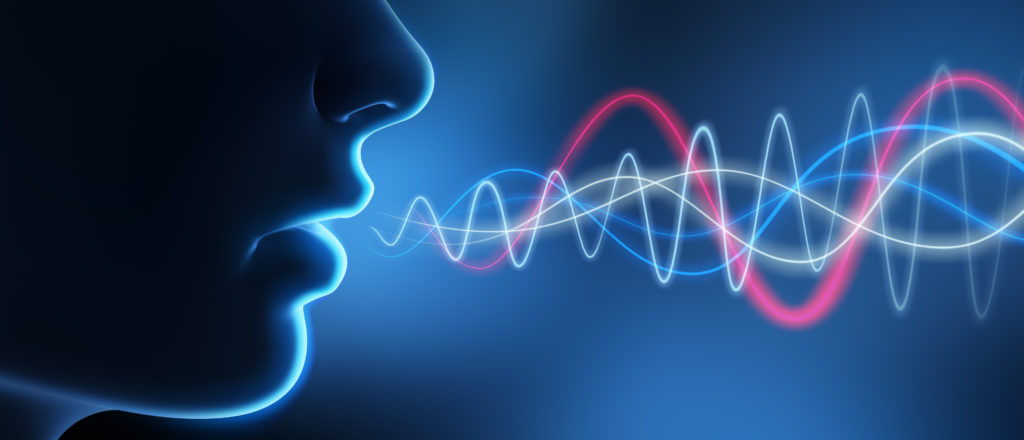 Think before you speak: voice recognition replacing the password image