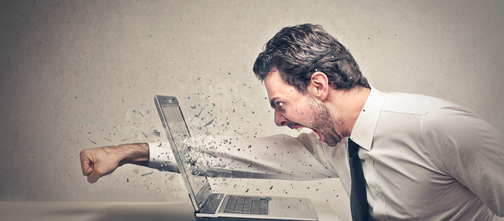 Do you have 'password rage'? A third of people admit to tantrums over password frustration image