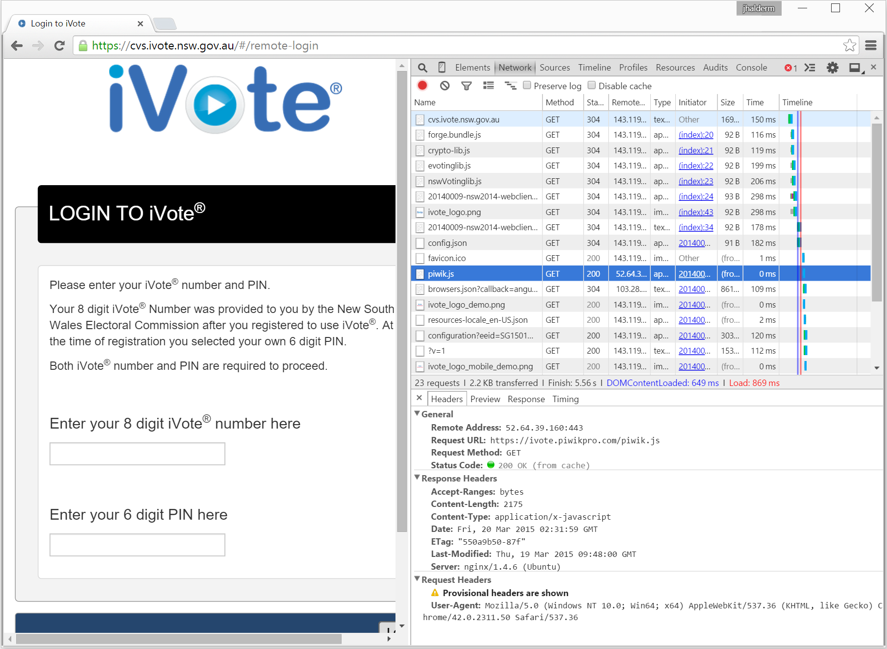 Security bug in Australia's online voting system throws
